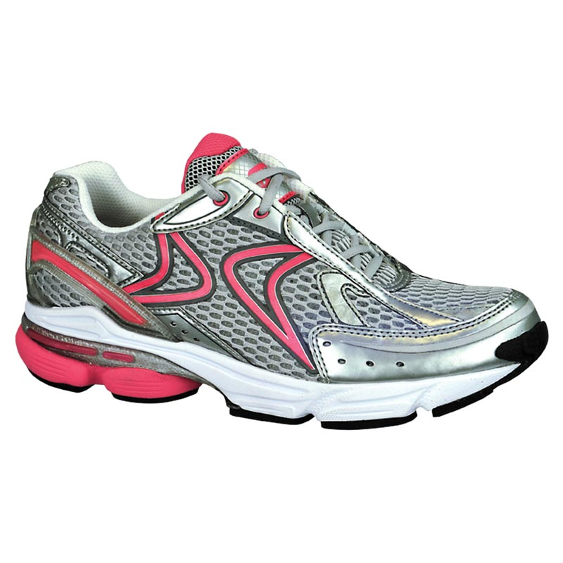 Aetrex Rx Runner Grey/Cranberry Synthetic 12 M