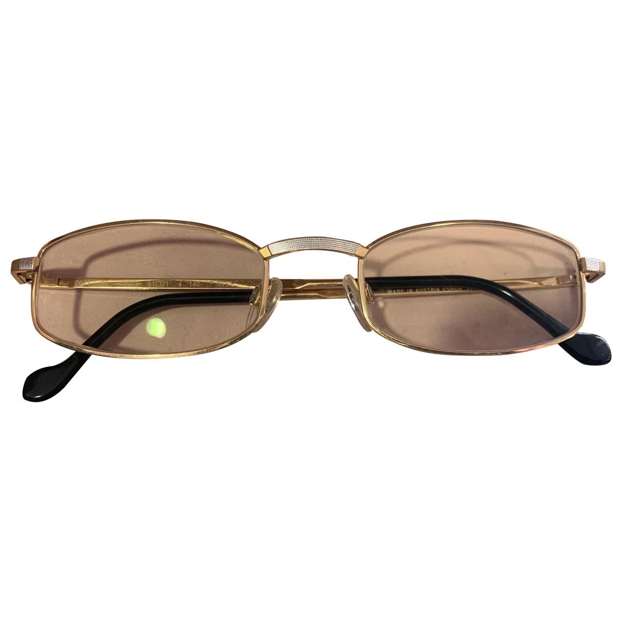 Gafas de Cuero S.t. Dupont