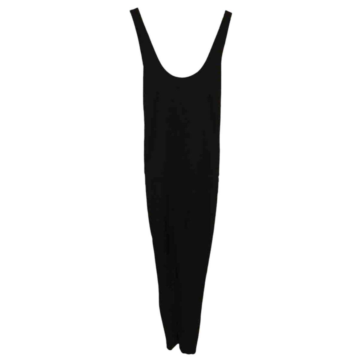Non Signé / Unsigned \N Black jumpsuit for Women 44 IT