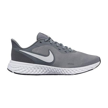 Nike Revolution 5 Mens Running Shoes, 10 Medium, Gray
