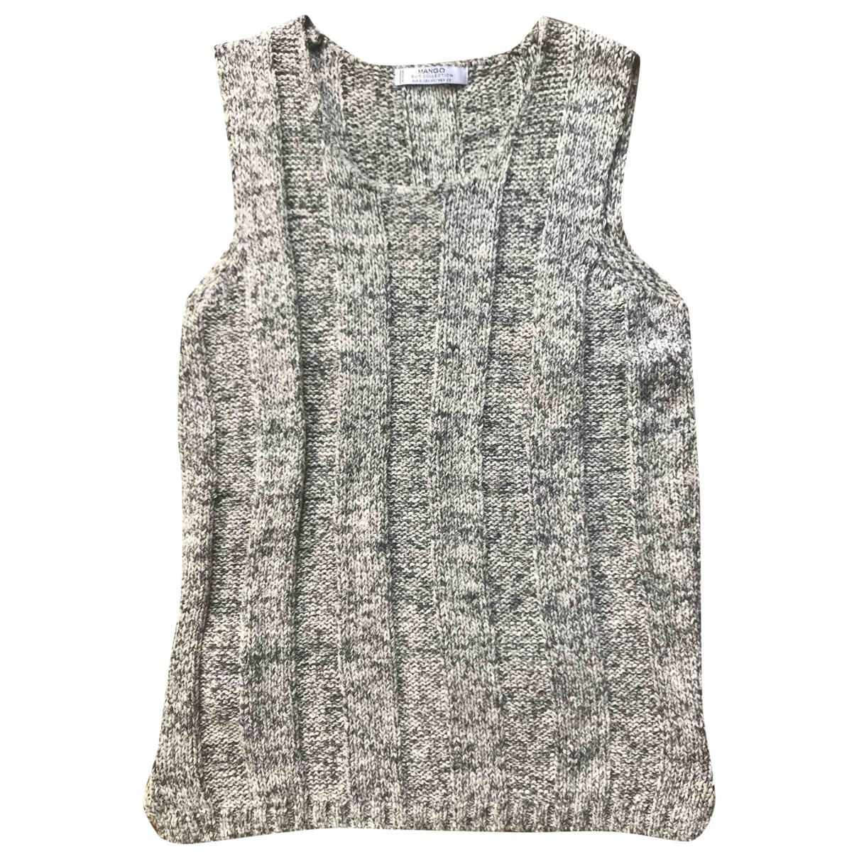 Mango \N Grey Cotton Knitwear for Women S International