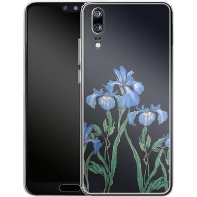 Huawei P20 Silikon Handyhuelle - My Iris von Stephanie Breeze