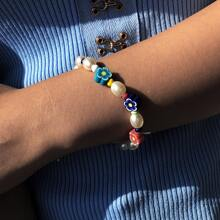 Armband mit Perlen Dekor
