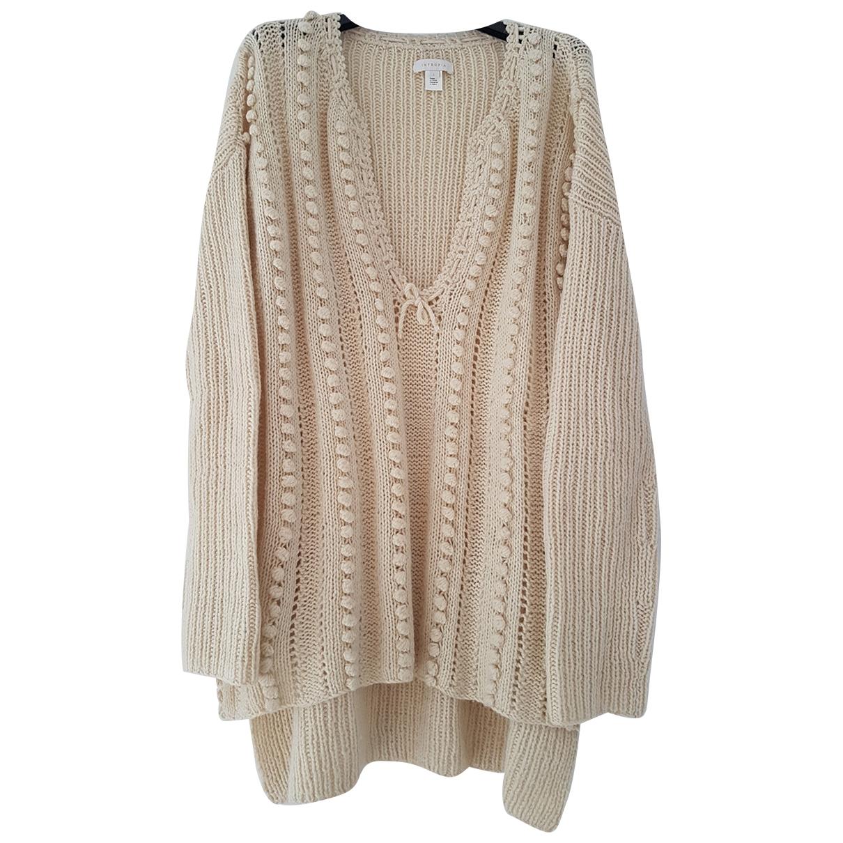 Hoss Intropia \N Beige Wool dress for Women L International