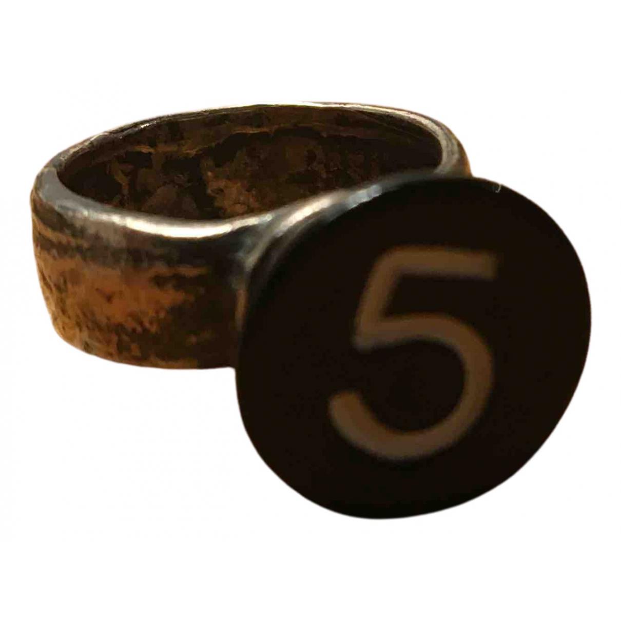 5 Octobre - Bague   pour femme en metal - metallise