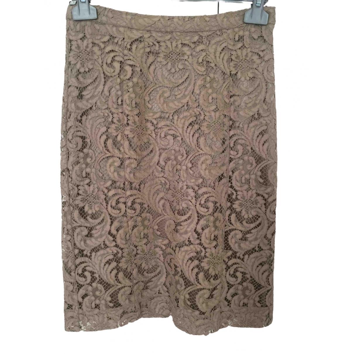 Burberry - Jupe   pour femme en coton - dore