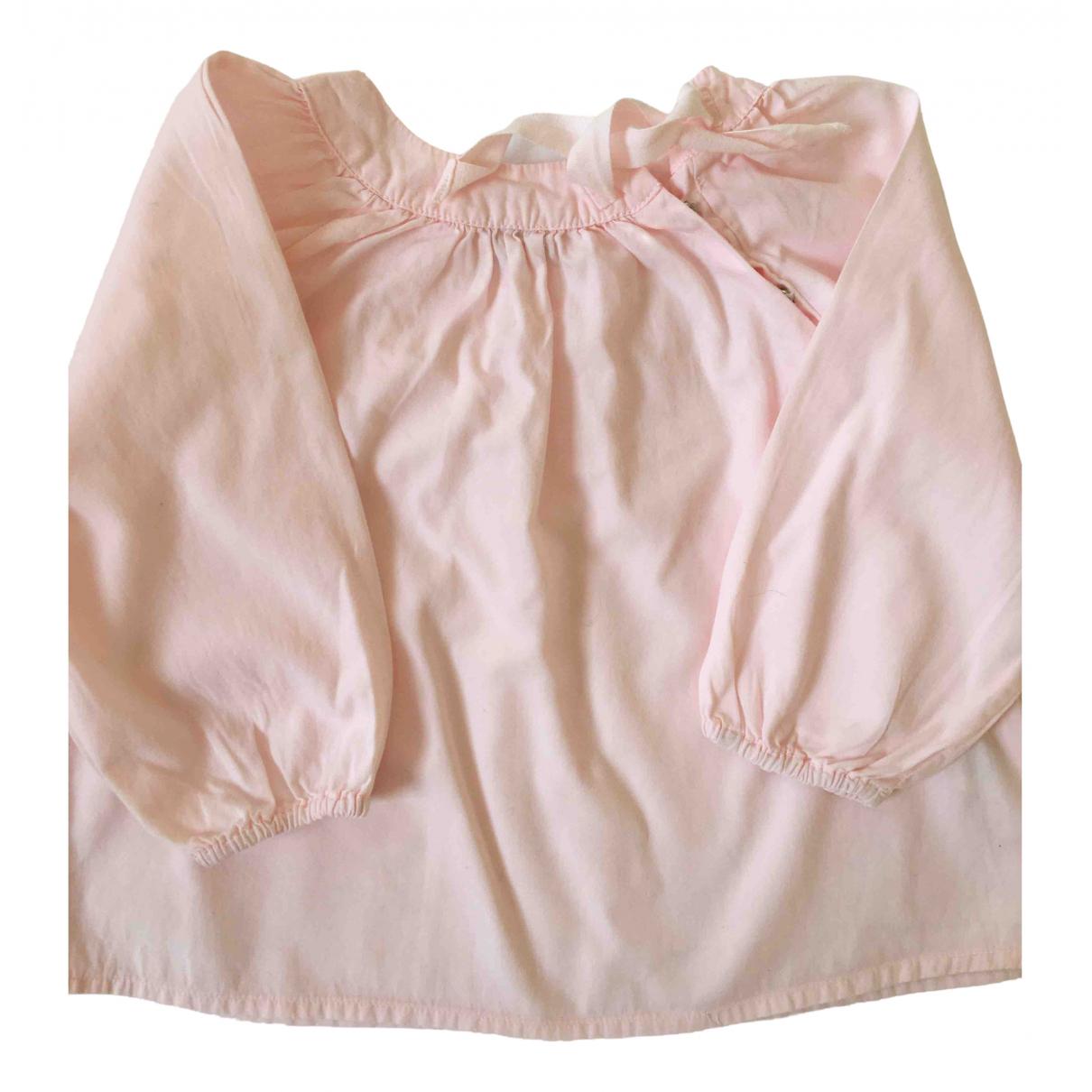 Bonton - Top   pour enfant en coton - rose