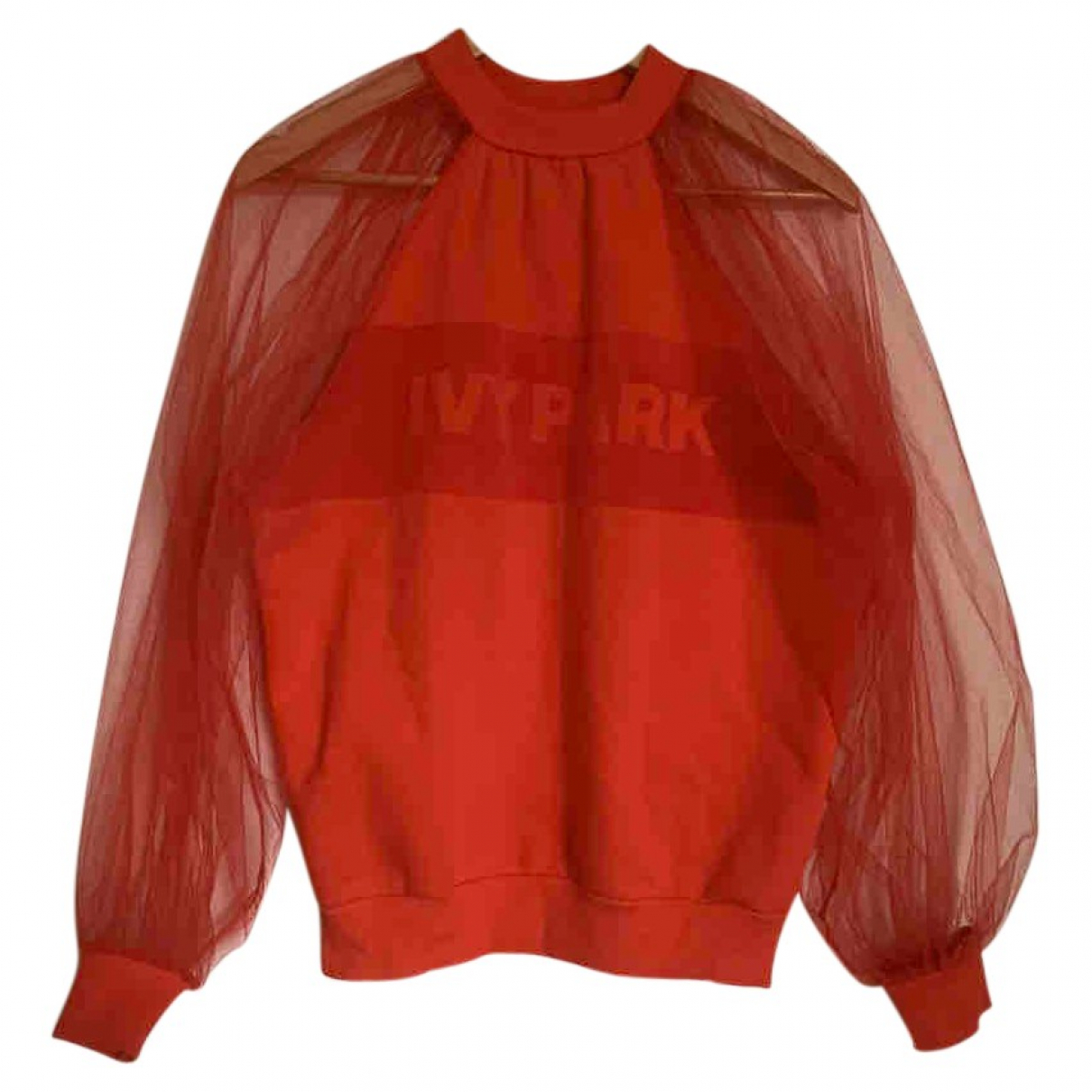 Ivy Park \N Red Cotton  top for Women XS International