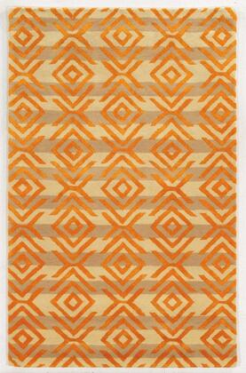 GSAGV863404280810 Gillespie Avenue GV8634-8 x 10 Hand-Tufted Premium blended wool with Viscose accents Rug in Beige   Rectangle
