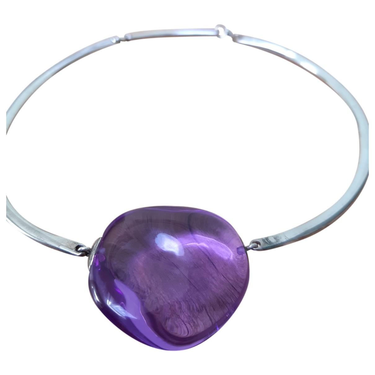 Baccarat \N Purple Crystal Jewellery set for Women \N