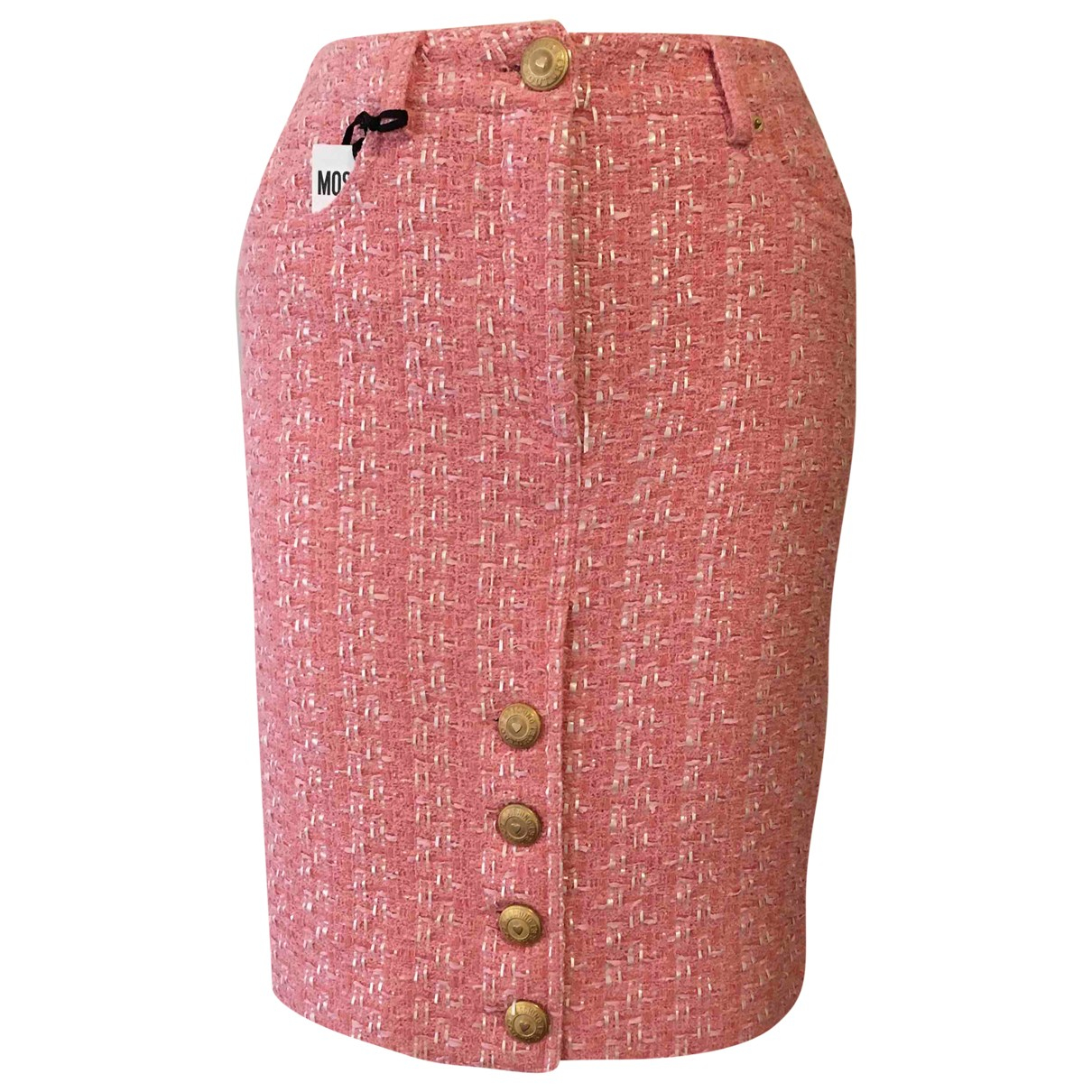 Moschino \N Rocke in  Rosa Tweed