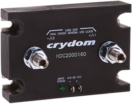 Sensata / Crydom 120 A Solid State Relay, DC, Panel Mount, 72 V dc Maximum Load