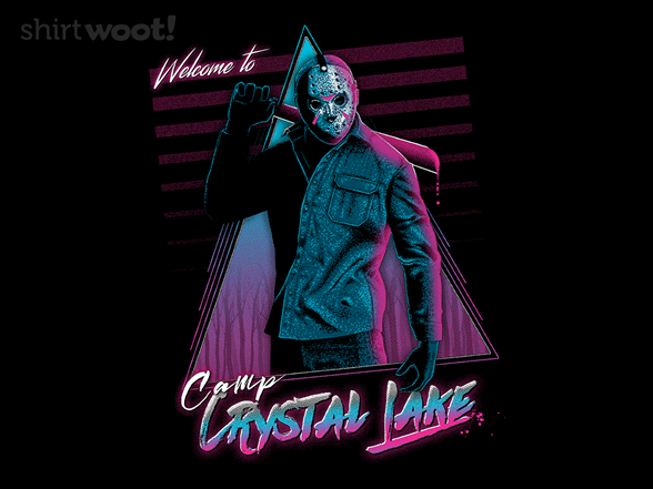 Welcome To Crystal Lake T Shirt