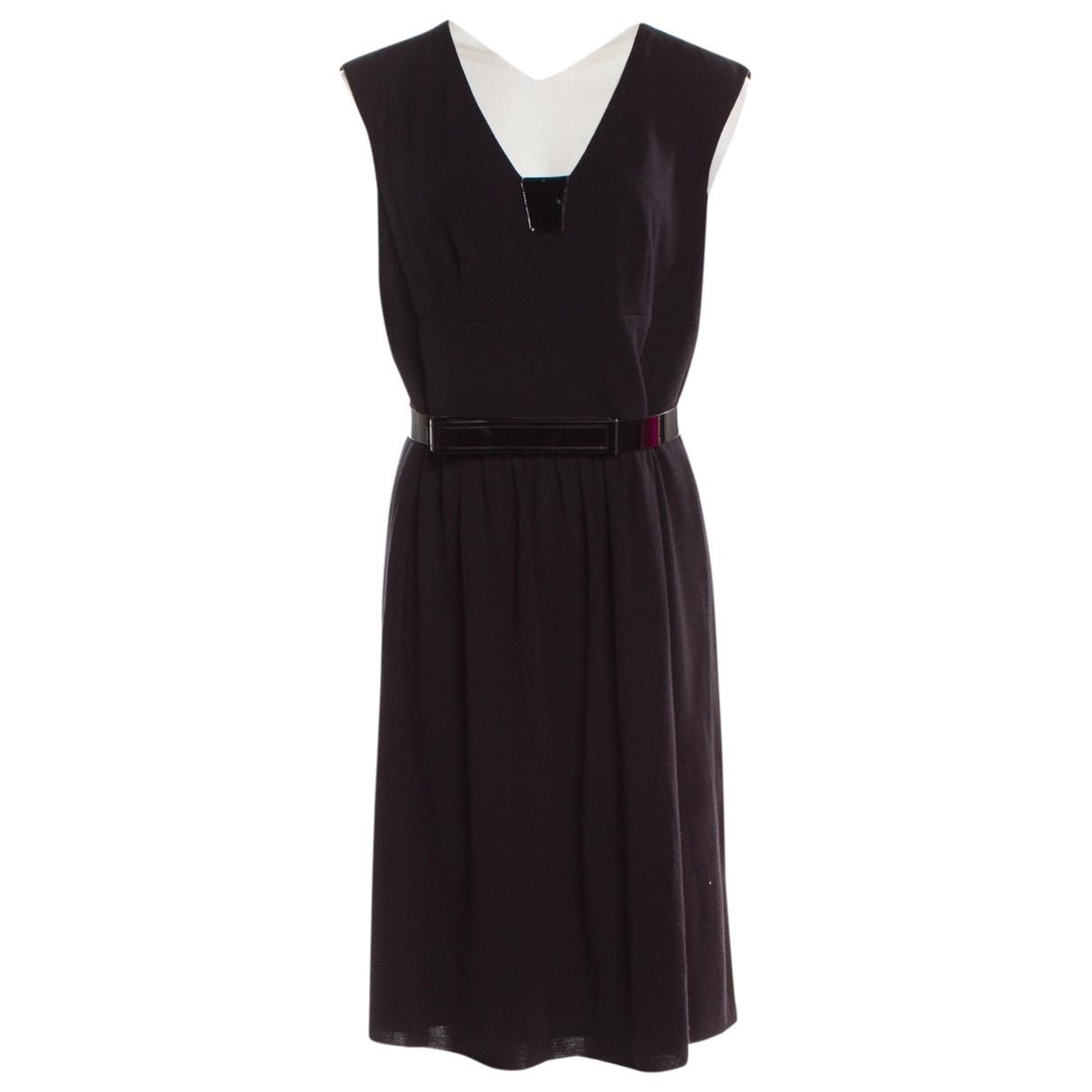 Akris Punto \N Kleid in  Schwarz Wolle