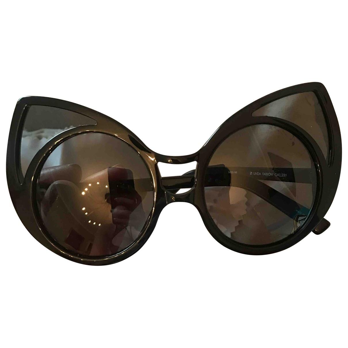 Linda Farrow \N Black Sunglasses for Women \N