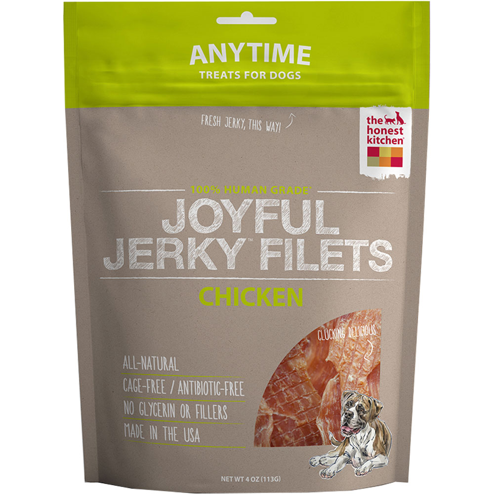Honest Kitchen Joyful Jerky Filets - Chicken (4 oz)