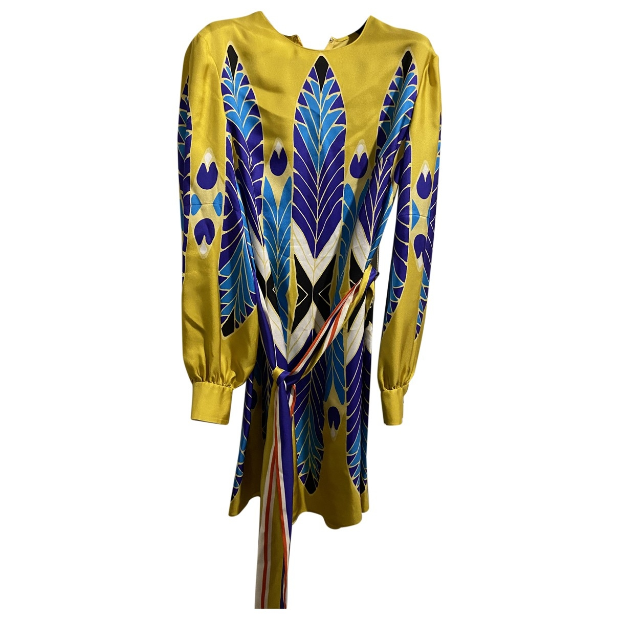Valentino Garavani \N Multicolour Silk dress for Women 38 IT