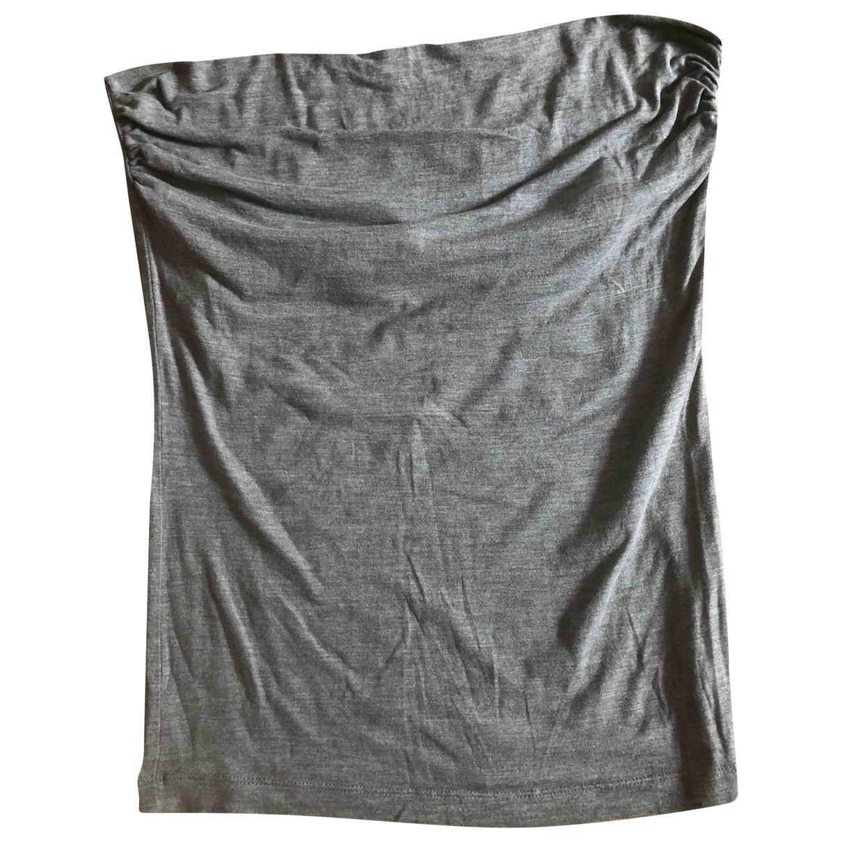 Brunello Cucinelli - Top   pour femme en coton - gris