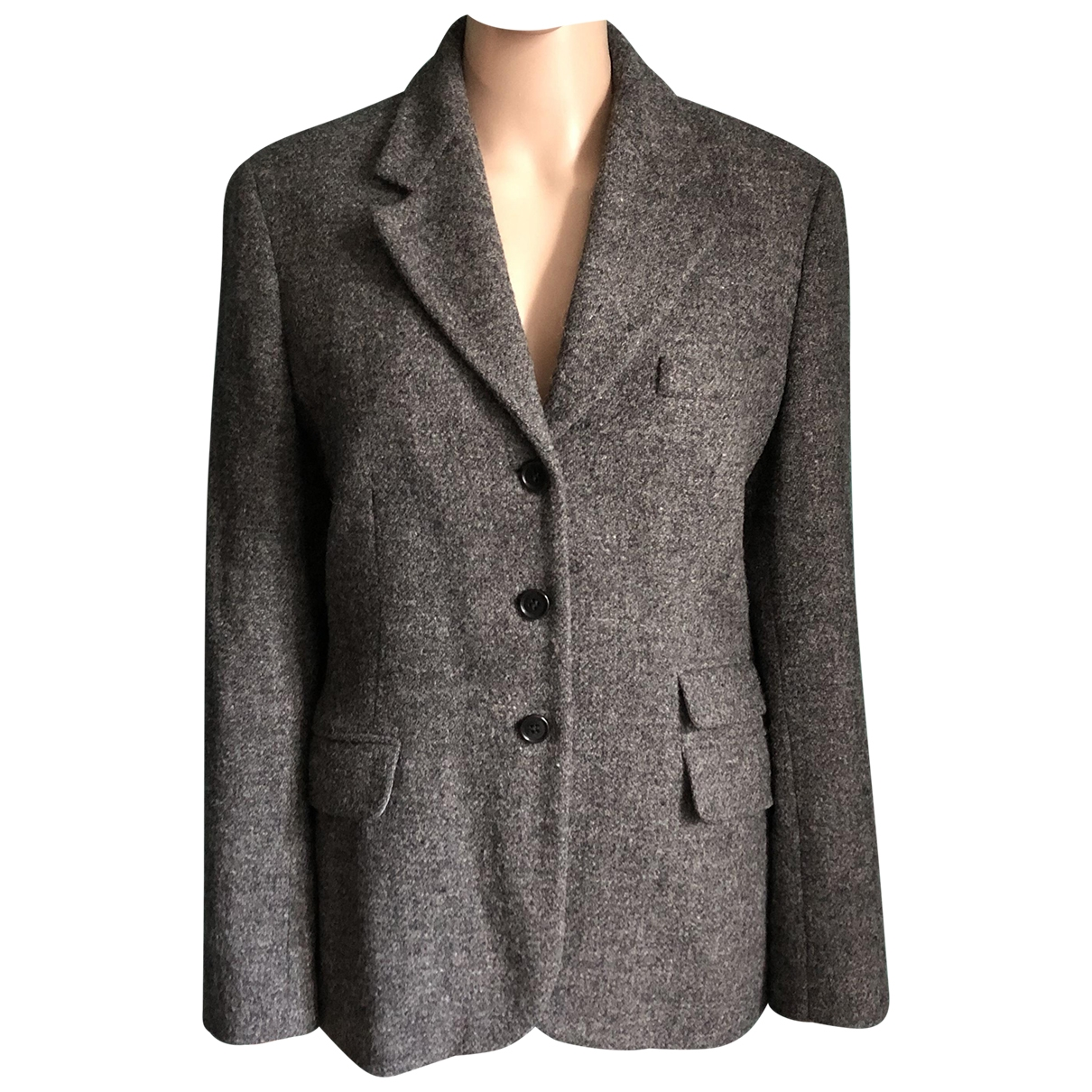 Paul Smith \N Anthracite Wool jacket for Women 46 IT