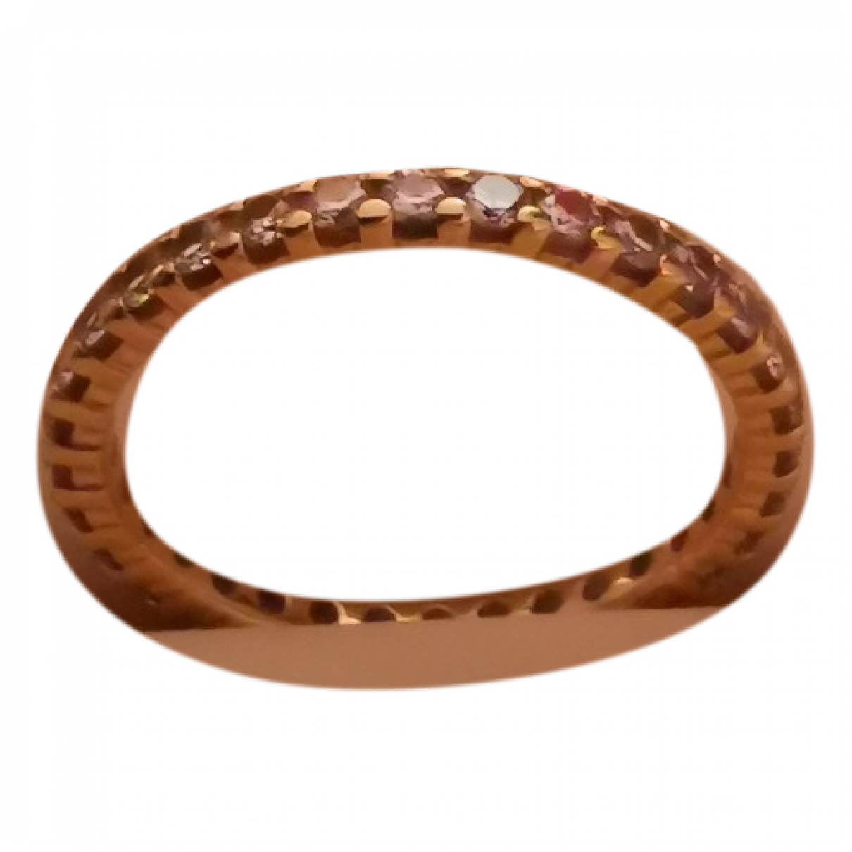 Non Signé / Unsigned \N Gold Yellow gold ring for Women 62 EU