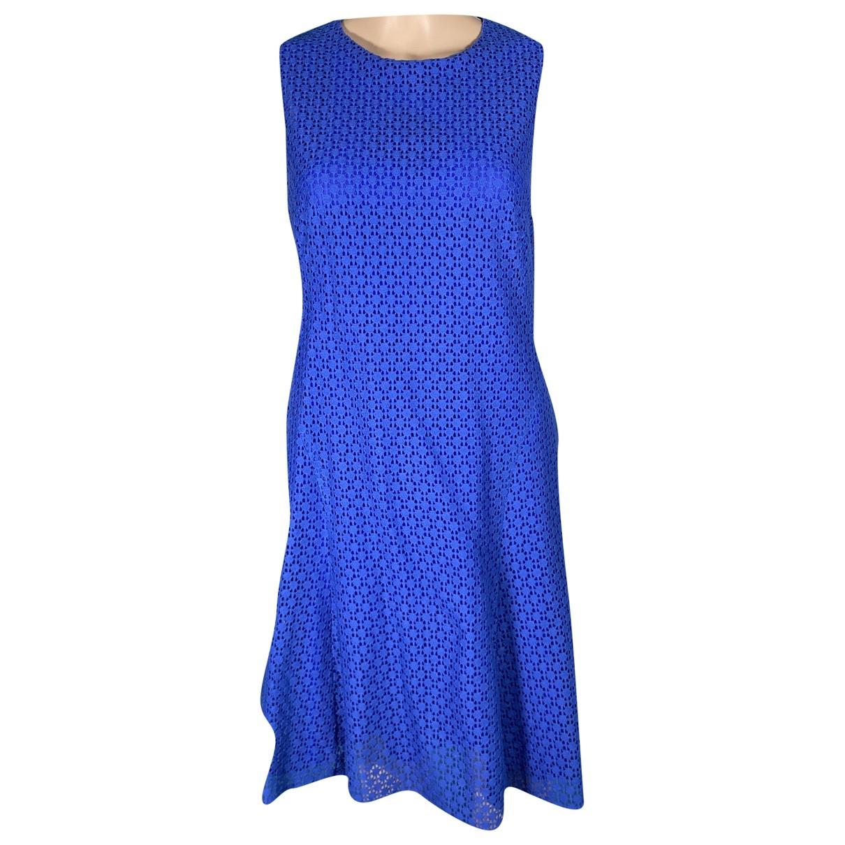 Akris Punto \N Kleid in  Blau Baumwolle