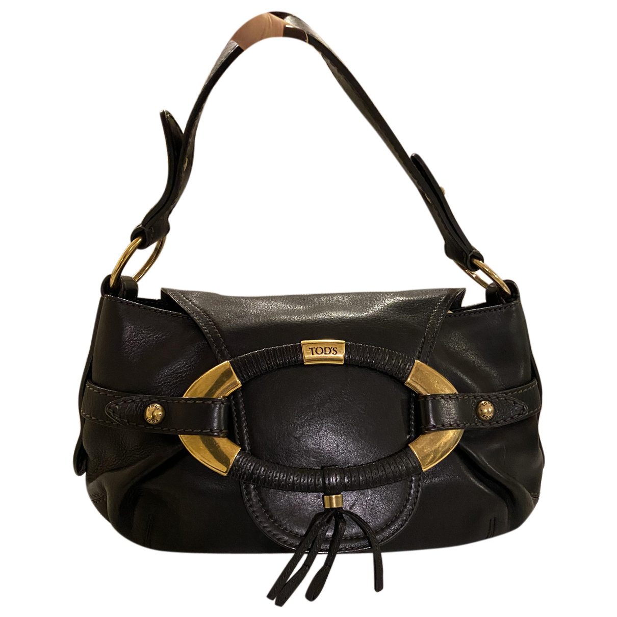 Tod's N Black Leather handbag for Women N