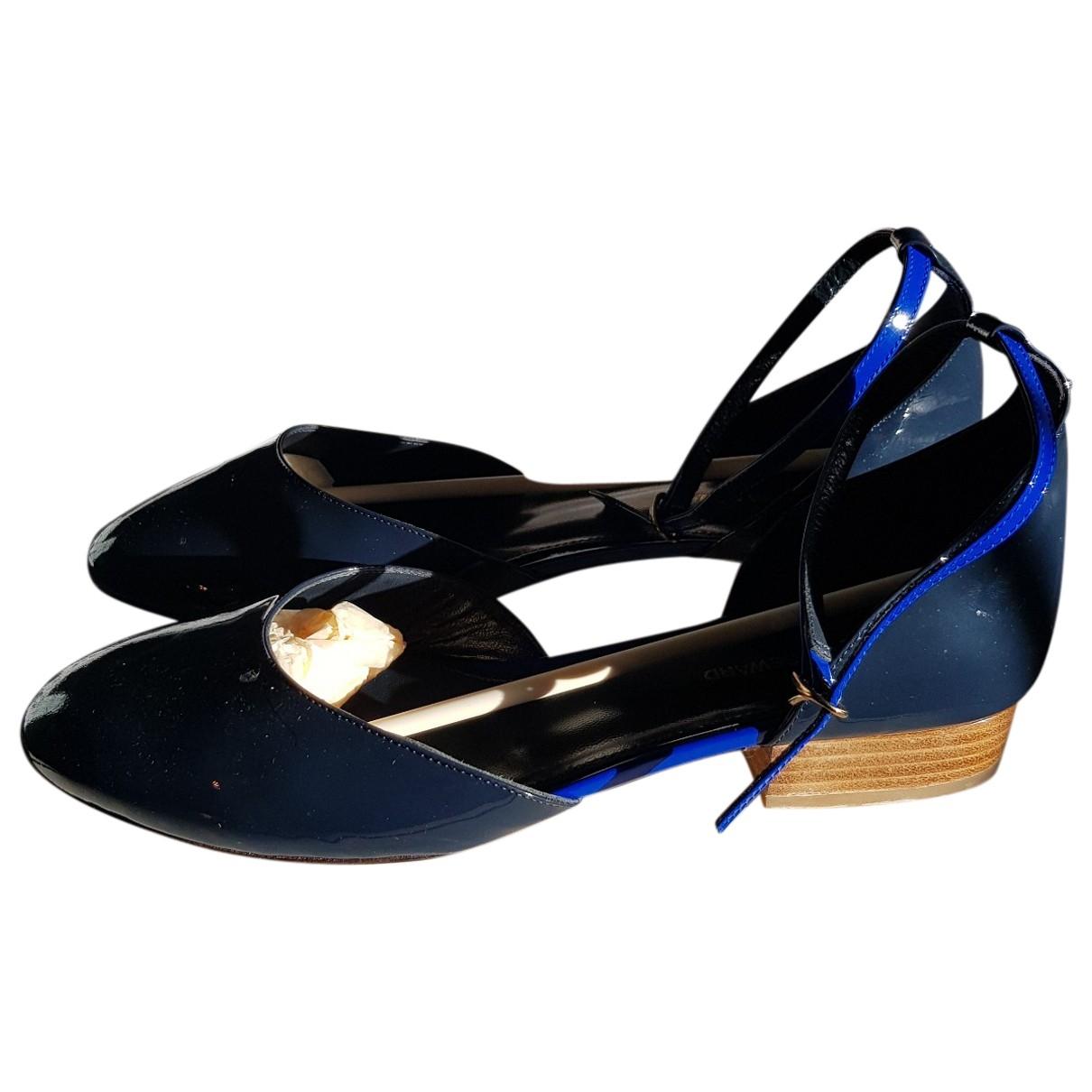Vanessa Seward \N Black Patent leather Ballet flats for Women 38 EU