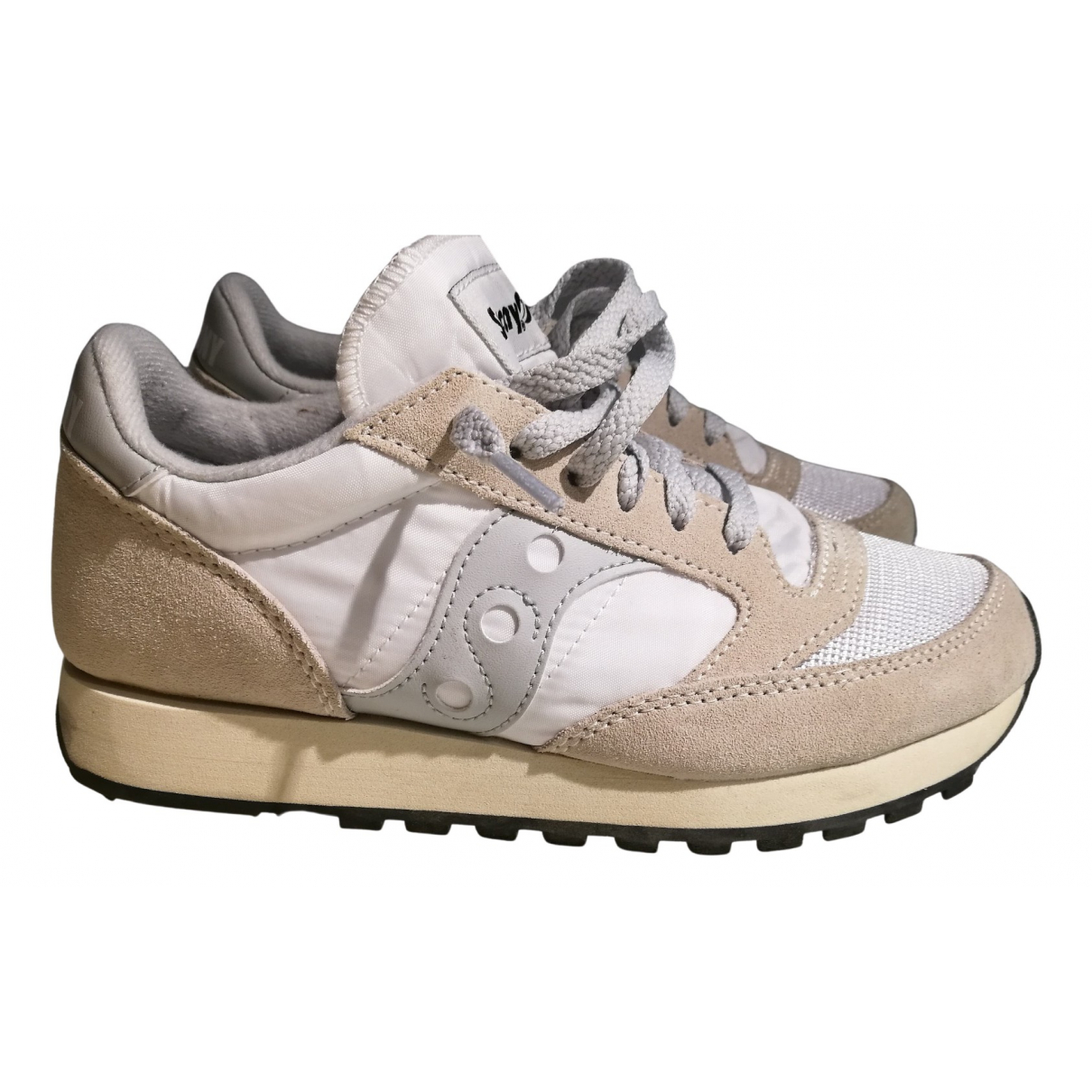 Saucony \N Sneakers in  Weiss Polyester