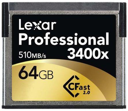 Lexar Professional CFast 64 GB MLC Compact Flash Card