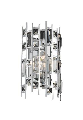 Fonseca 033020-010-FR001 1-Light ADA Wall Sconce in Chrome Finish with Firenze Clear