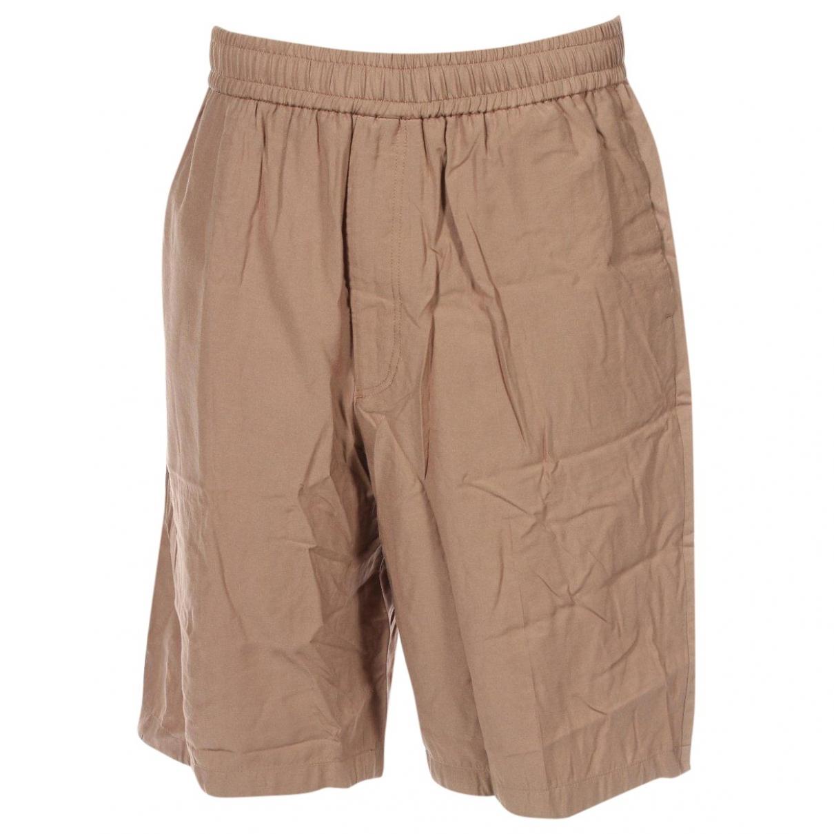 Joseph \N Shorts in  Beige Viskose