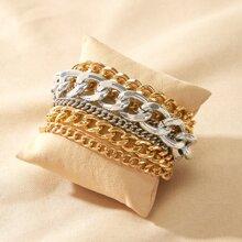 Chain Layered Bracelet