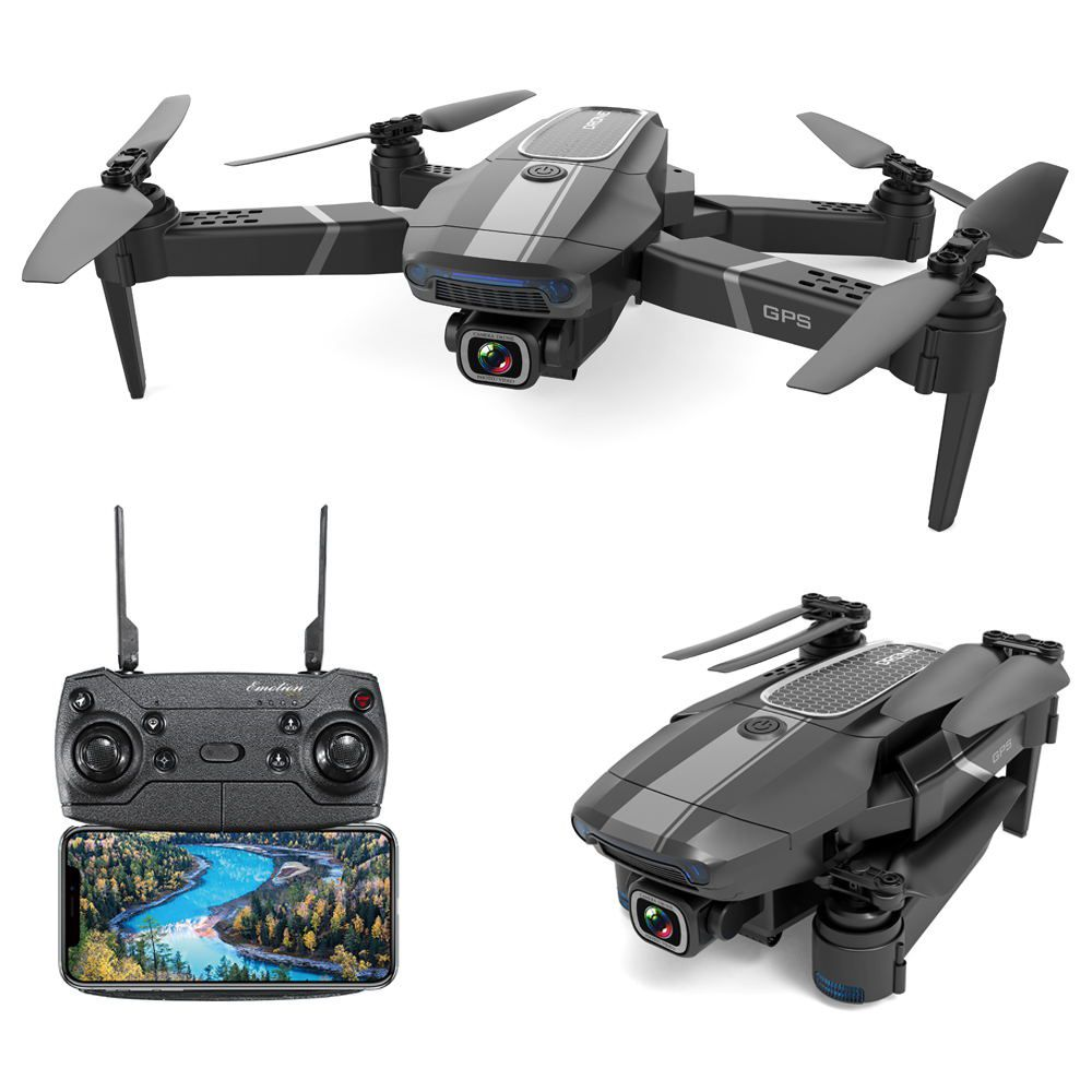 JDRC JD-22S 4K FPV Foldable GPS RC Drone RTF One Battery With Bag