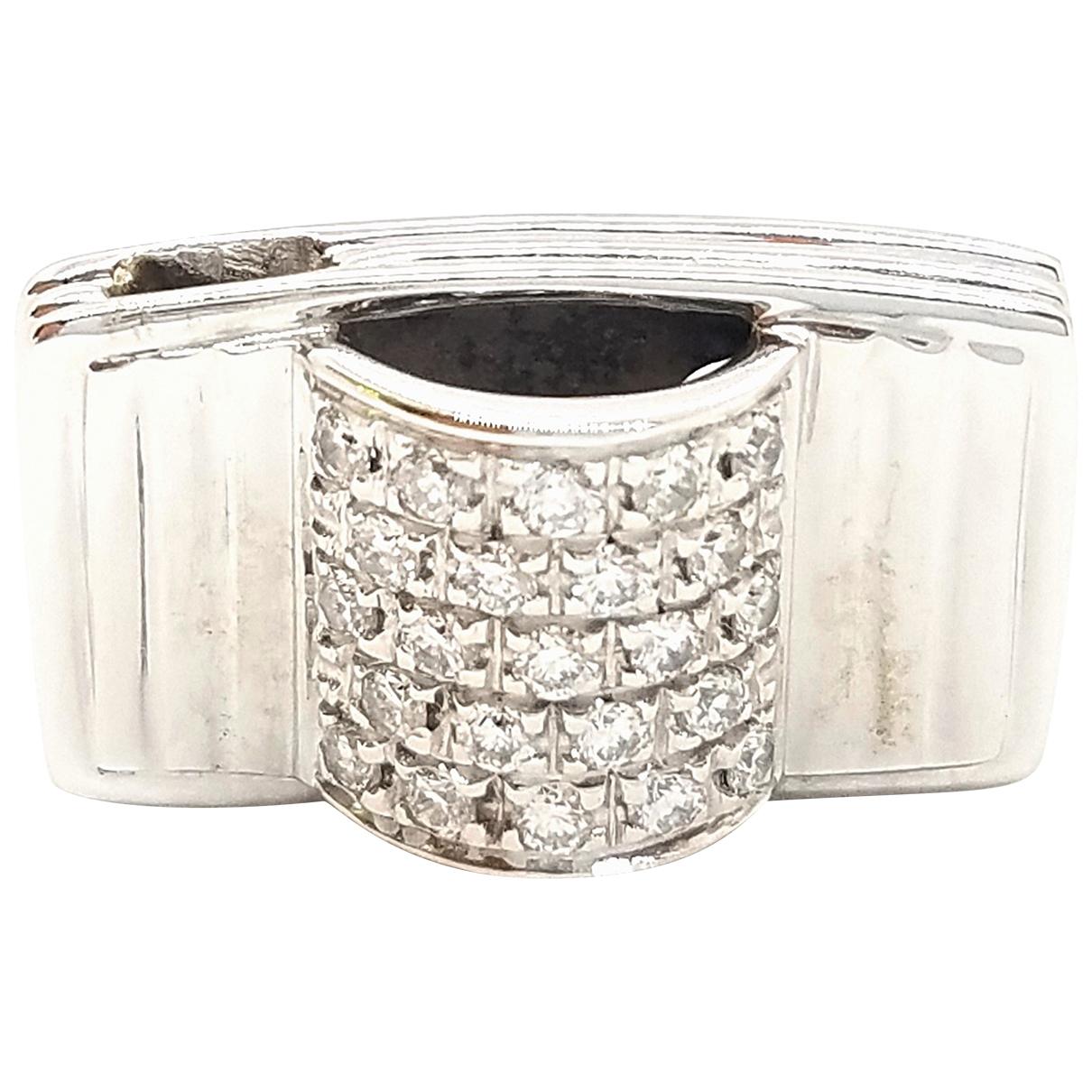 Poiray \N Silver White gold pendant for Women \N
