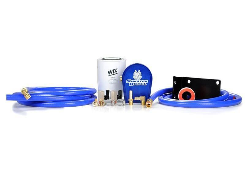 Sinister Diesel SD-COOLFIL-6.7C-W Coolant Filtration System w/ WIX for 07.5-12 Dodge Cummins 6.7L