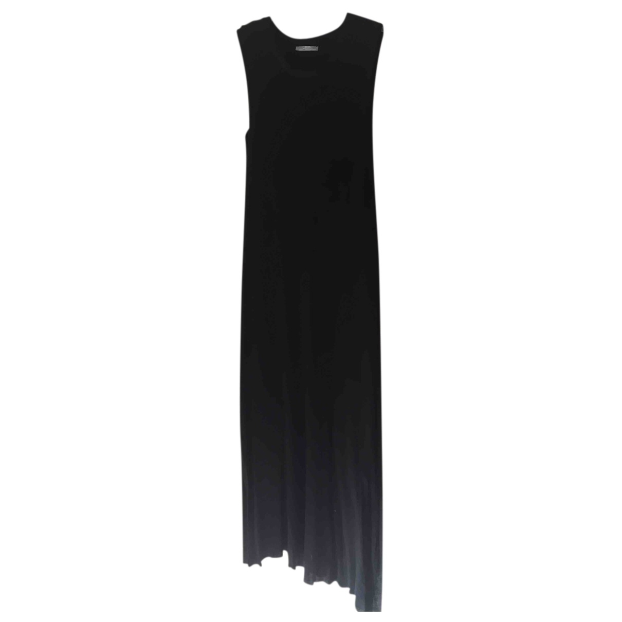 Zara - Robe   pour femme en coton - elasthane - noir