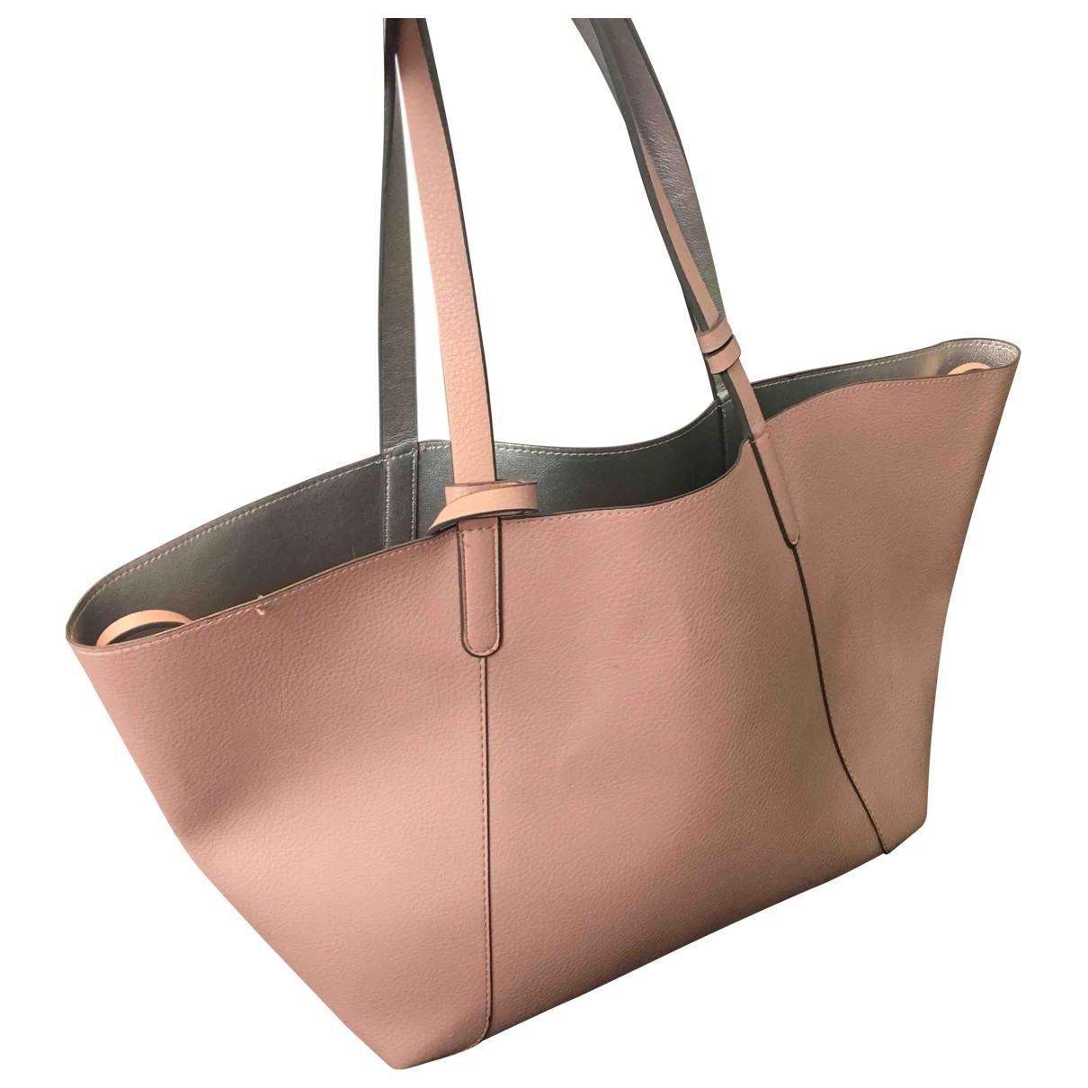 Zara \N Handtasche in  Rosa Synthetik
