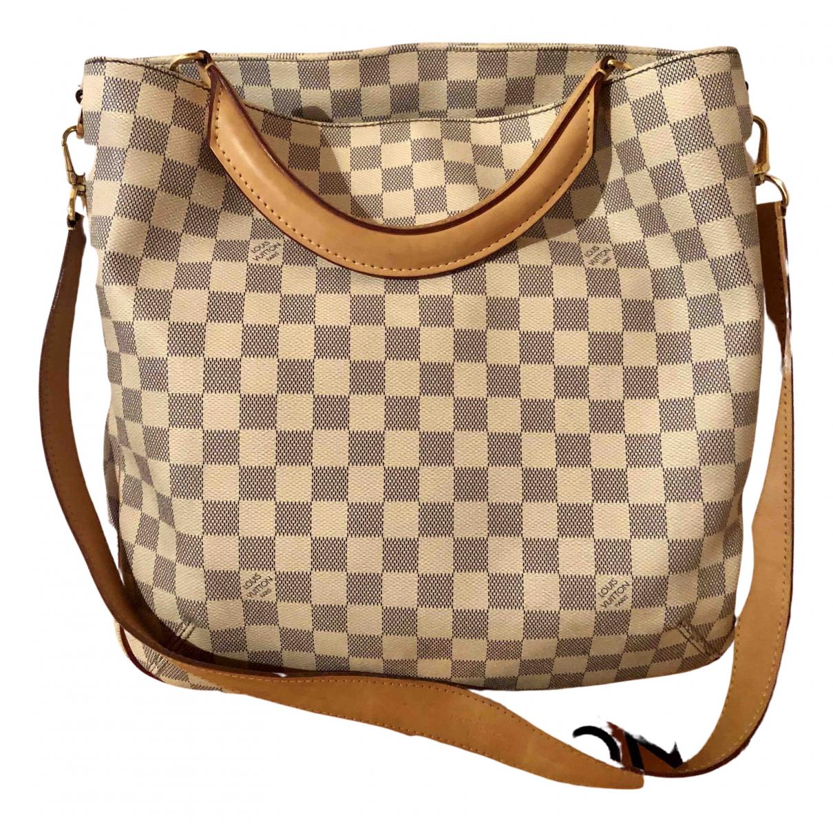 Louis Vuitton Soffi Ecru Cloth handbag for Women N