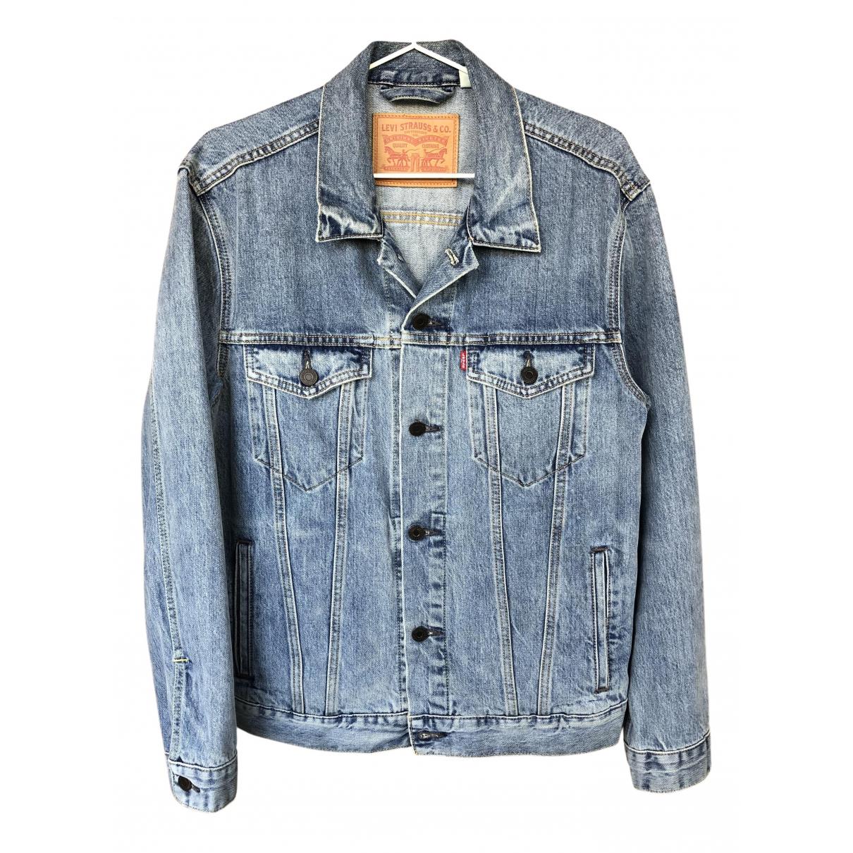 Levi's N Blue Denim - Jeans jacket  for Men M International