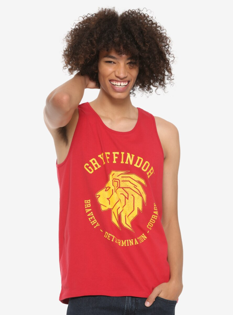 Harry Potter Gryffindor Ringer Tank Top - BoxLunch Exclusive
