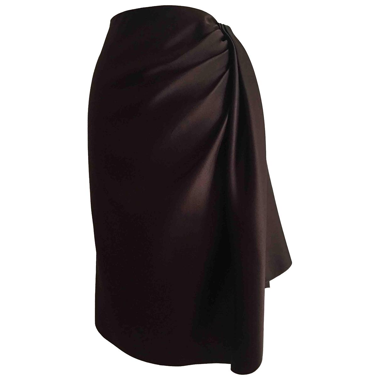 Falda midi de Seda Lanvin