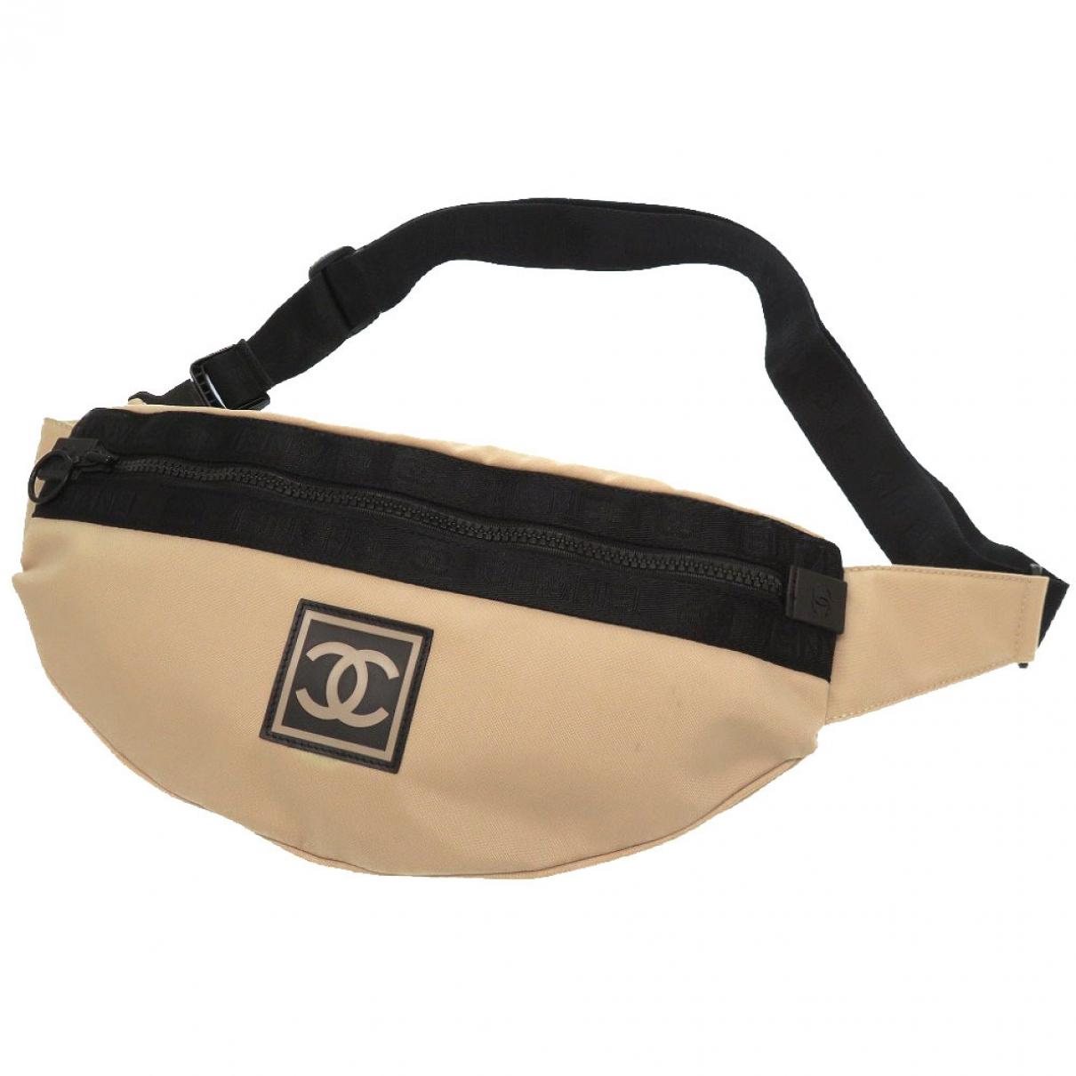 Chanel \N Beige Cloth Clutch bag for Women \N