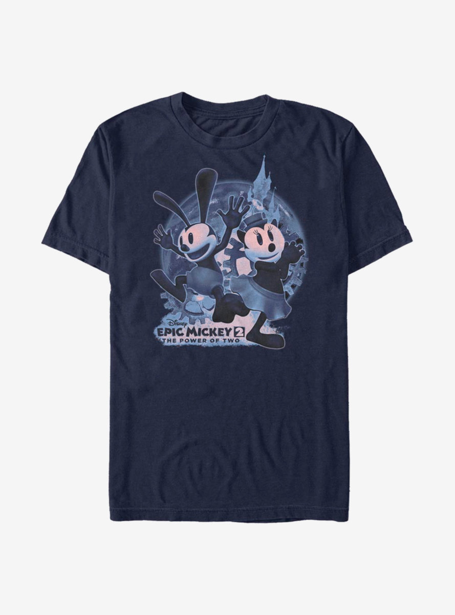 Disney Epic Mickey Oswald And Ortensia Moon T-Shirt