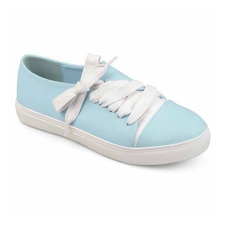 Journee Collection Womens Sway Slip-On Shoe, 8 1/2 Medium, Blue