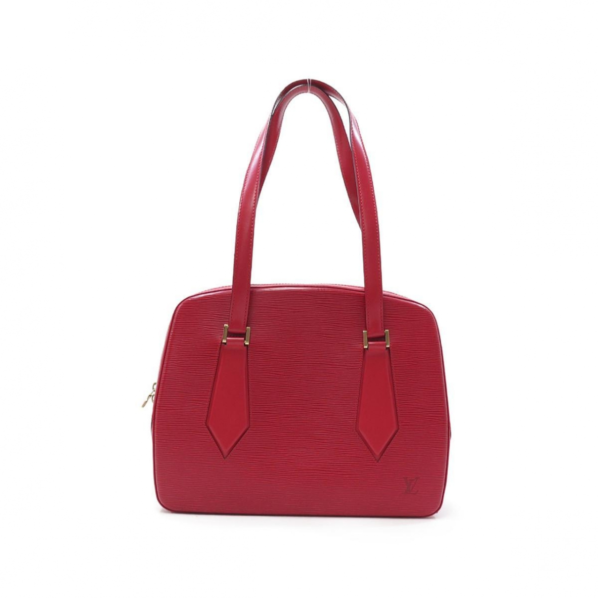 Louis Vuitton \N Handtasche in  Rot Leder