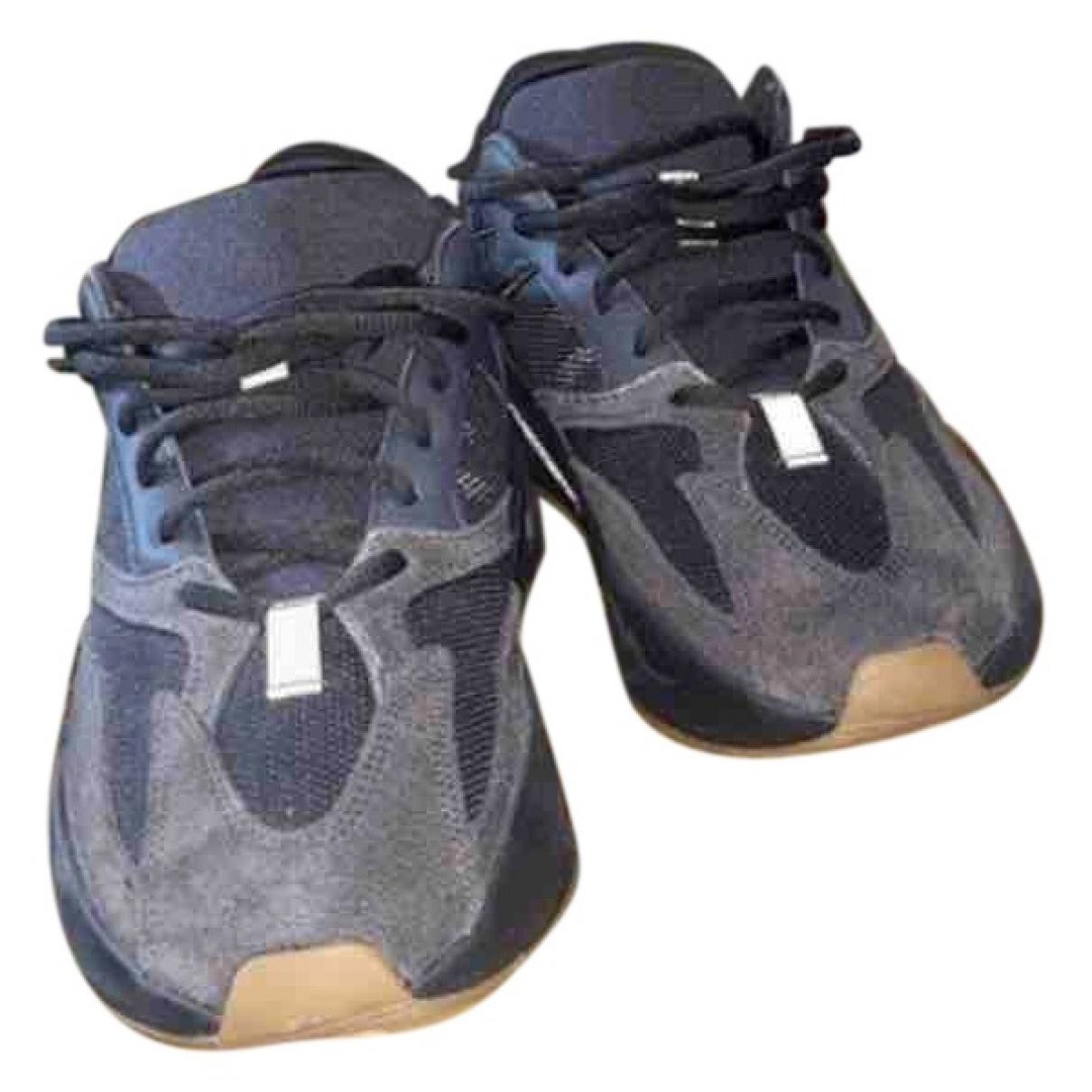 Yeezy X Adidas - Baskets Boost 700 V1  pour homme en cuir - noir