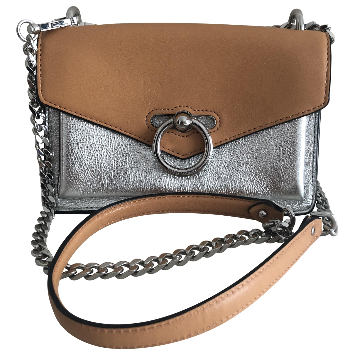 Rebecca Minkoff \N Handtasche in  Metallic Leder