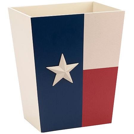 Avanti Texas Star Wastebasket, One Size , Multiple Colors