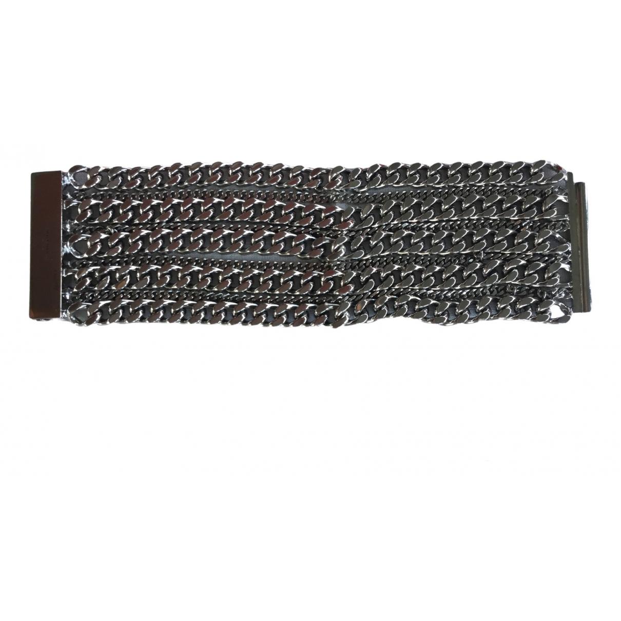 Saint Laurent - Bracelet   pour femme en metal - argente