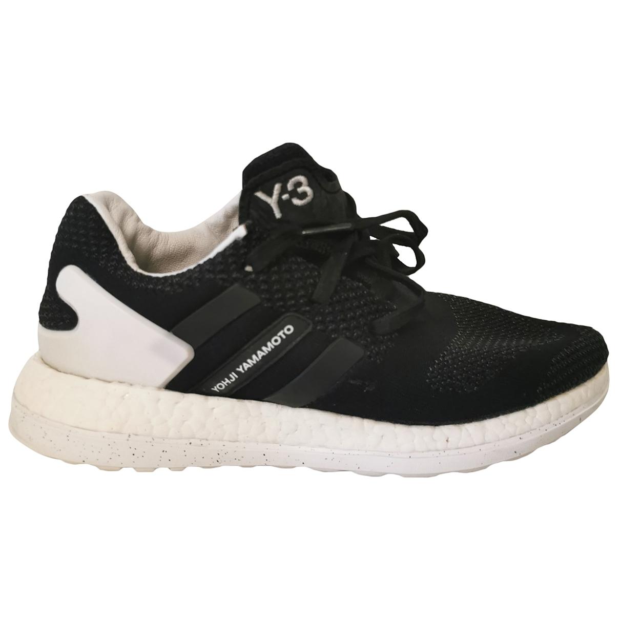 Y-3 \N Sneakers in  Schwarz Leinen